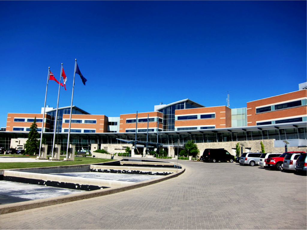 Ontario Police Head Office, Orillia, ON