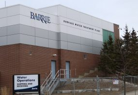 Barrie Water Treatment Plant Renovation, Barrie