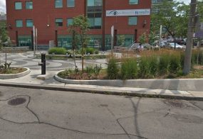 Brunswick-College Parkette Landscape Lighting and Power, Toronto
