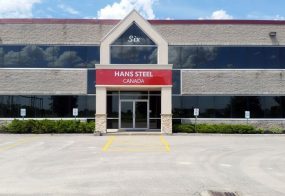 Hans Steel Canada, New Steel Plant, 6 Sangster Rd, Uxbridge
